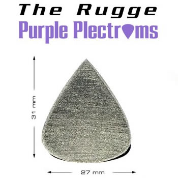 The Rugge - Purple Plectrums